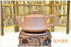 Çin Collection Yixing Purple Clay Teapot , Delicate Yixing Zisha Clay Teapot şirket